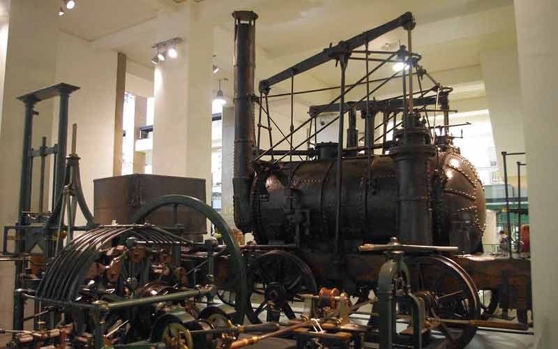 Locomotive Puffing Billy